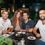 Gonzalo Blanco, Camila Vial, Domingo Raide y David Fernandez